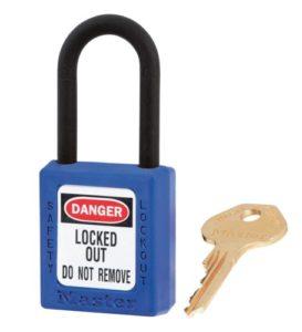Cadenas Master Lock 406BLU